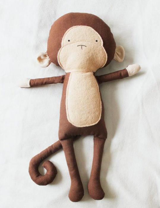 Обезьянка мягкая игрушка своими руками