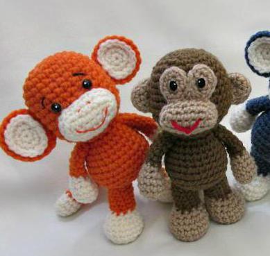мягкая игрушка обезьянка своими руками