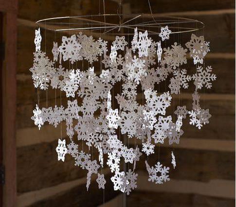 Снежинки из офисной бумаги своими руками фото 784