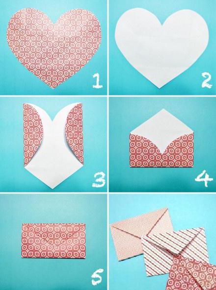 изготовление конверта своими руками
