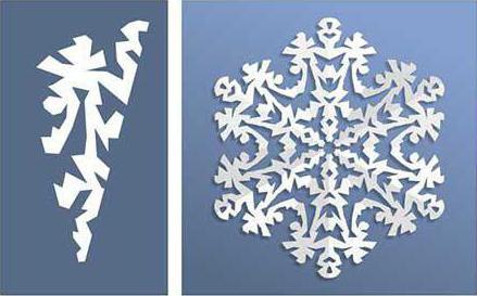 ажурные снежинки из бумаги схемы для вырезания
