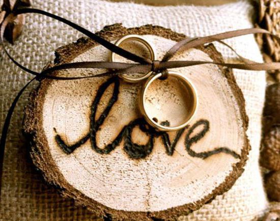 подарки из дерева на годовщину