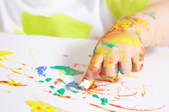 из чего сделать пальчиковые краски
