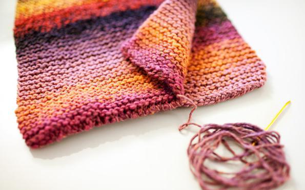 как называется круглый шарф