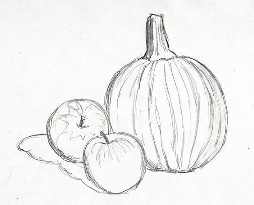 научиться рисовать карандашом с нуля