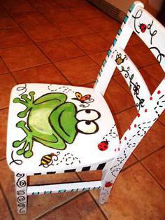 роспись детской мебели