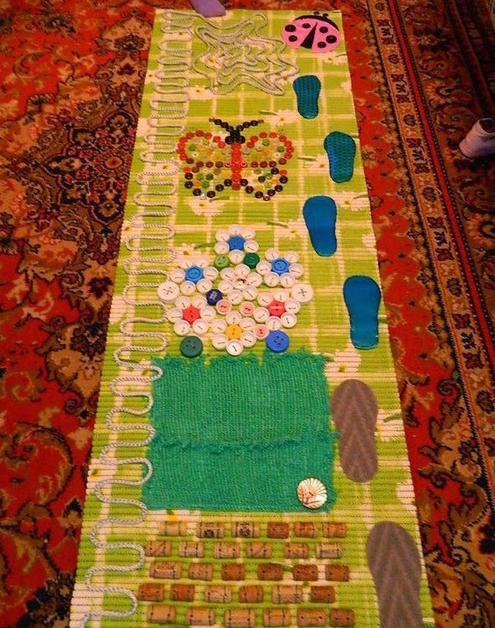 отзыв о массажный коврик своими руками