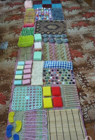 Массажные коврики своими руками для детей 13