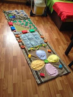 массажные коврики дорожки своими руками