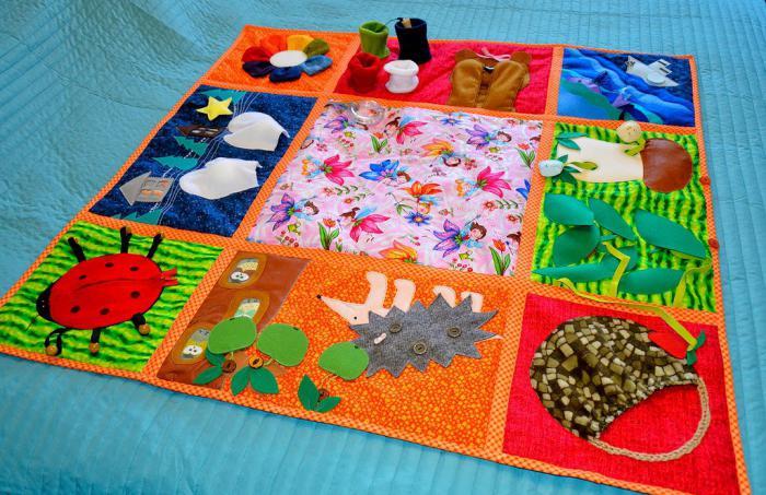 как сделать коврик массажный детский