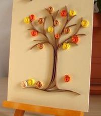 осеннее дерево своими руками из бумаги