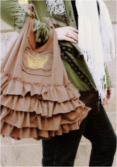 летняя сумка из ткани своими руками