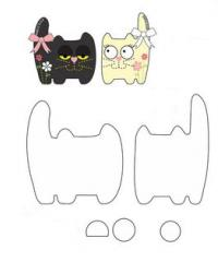 выкройки игрушек котов
