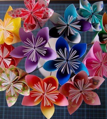 как сделать красивый букет из бумажных цветов