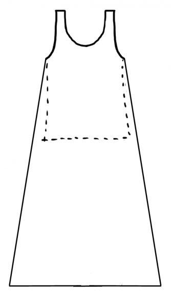 выкройка длинного платья