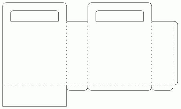 Бумажные пакеты своими руками (простой способ) 57