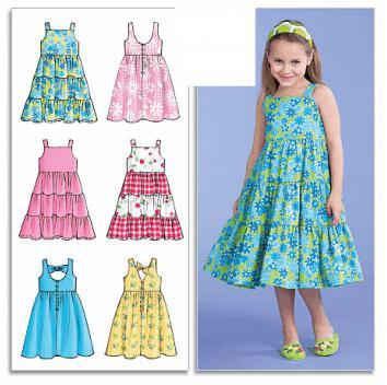 сшить нарядное платье для девочки
