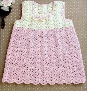 нарядные вязаные платья для девочек