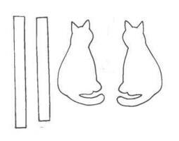 подушка кот выкройка
