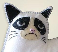 подушки обиженные коты выкройка