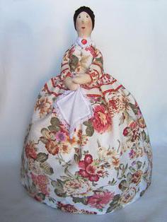 очаровательные куклы грелки на чайник