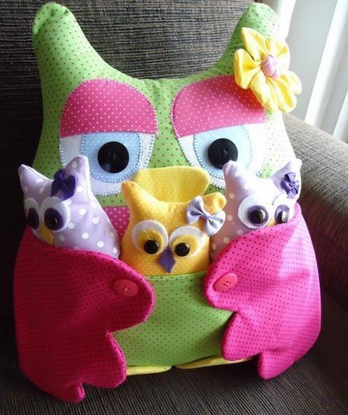 подушки игрушки своими руками выкройки