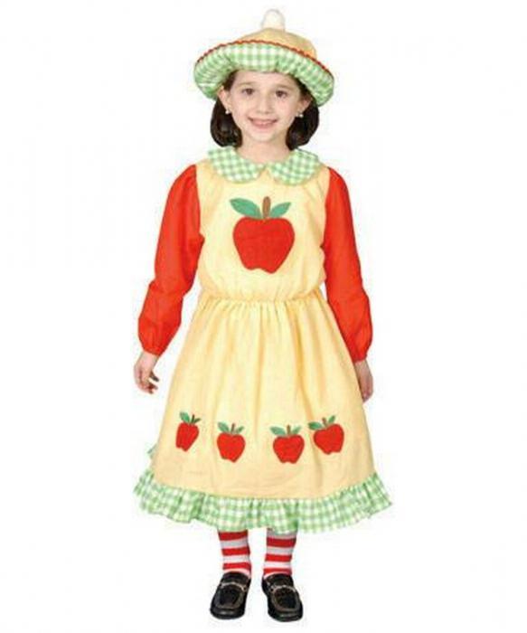 костюм яблока своими руками фото