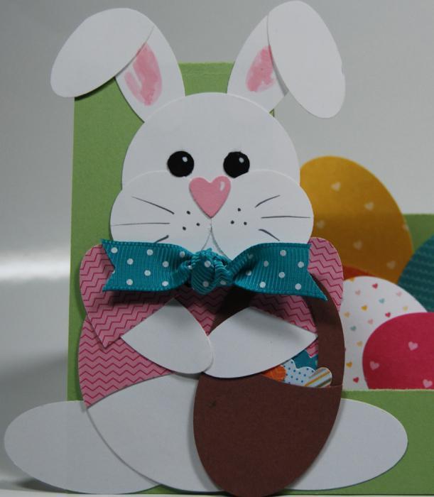 пасхальные кролики своими руками из бумаги