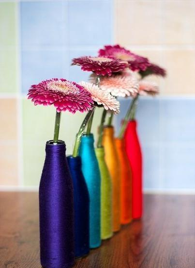 Декор в вазу своими руками фото