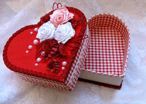 поделки на валентина