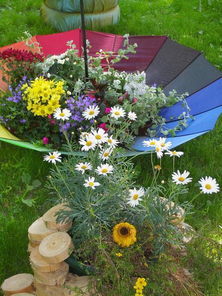 Садовый декор своими руками из подручных