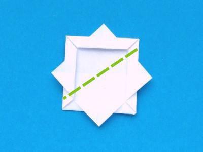 нежный ландыш оригами