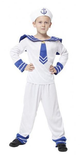новогодний костюм моряк матрос эскиз