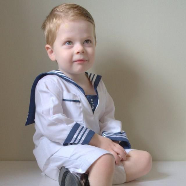 костюм моряка для мальчика своими руками