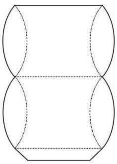 Круглая коробочка из картона своими руками схемы