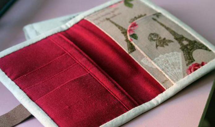 изготовление обложки для паспорта