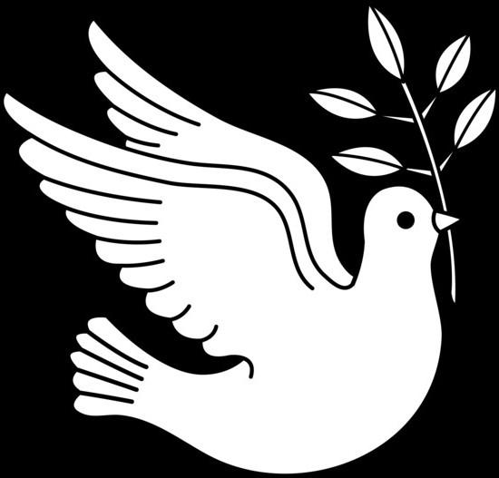 Вырезание голубя мира своими руками 305