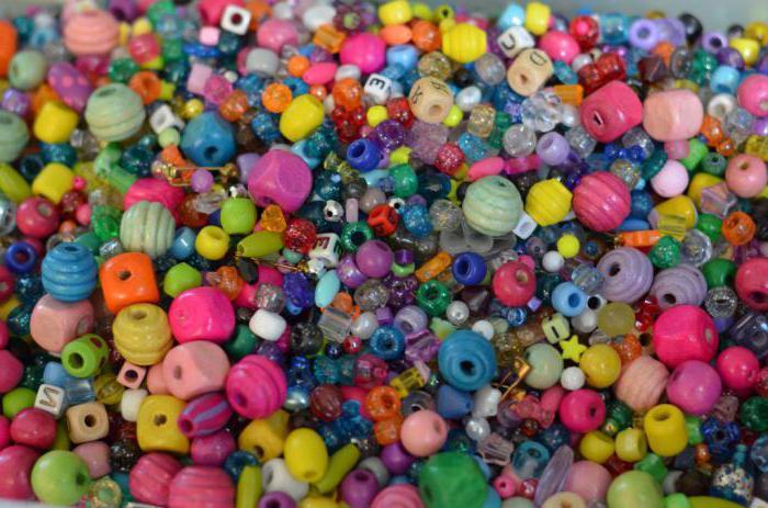 браслеты из резинок с бусинами