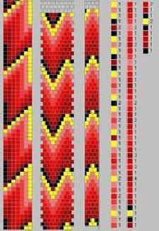 жгут из бисера схемы плетения с иголкой