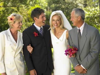 Свадебные поздравления от родителей стихи
