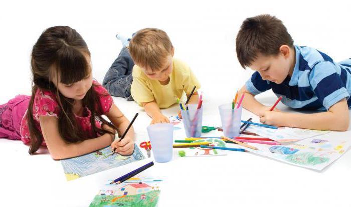 рисование в детском саду на тему моя семья