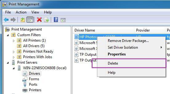 Как удалить драйвер мыши windows