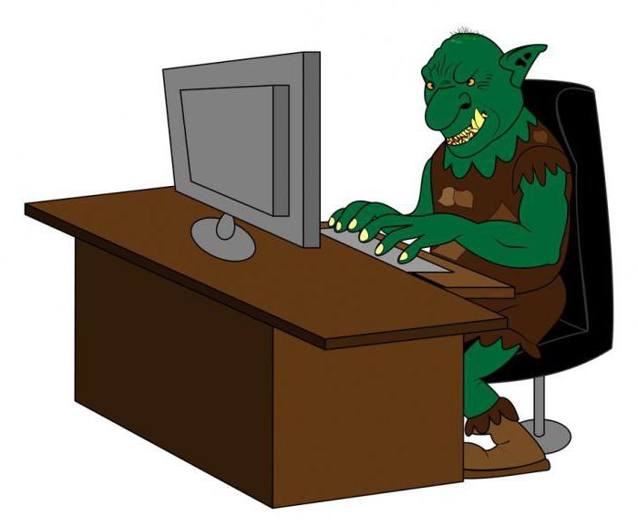 Троллинг в интернете