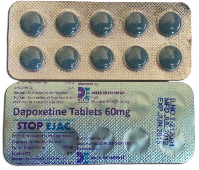 отзывы врачей о дапоксетин