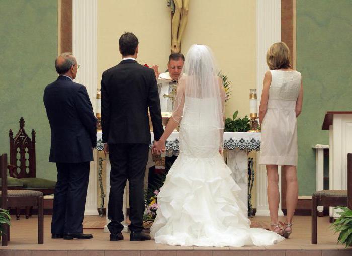 кто может быть свидетели на свадьбе
