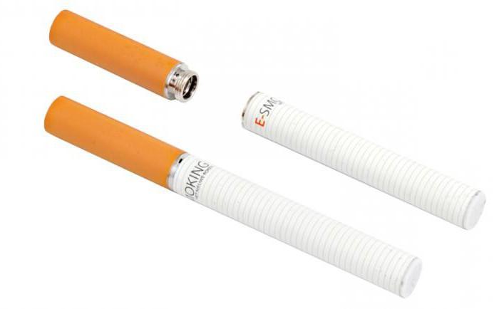 Электронная сигарета против обычной сигареты