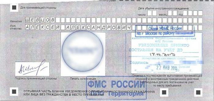 Регистрации иностранных граждан на территории рф на почте сложной социальной