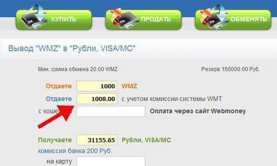 перевести деньги на вебмани с банковской карты
