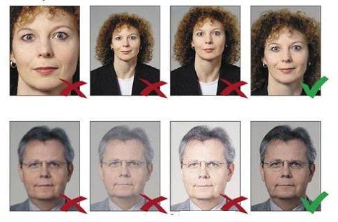 фото на паспорт сколько