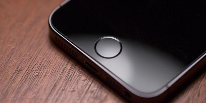 Кнопка домой на айфоне